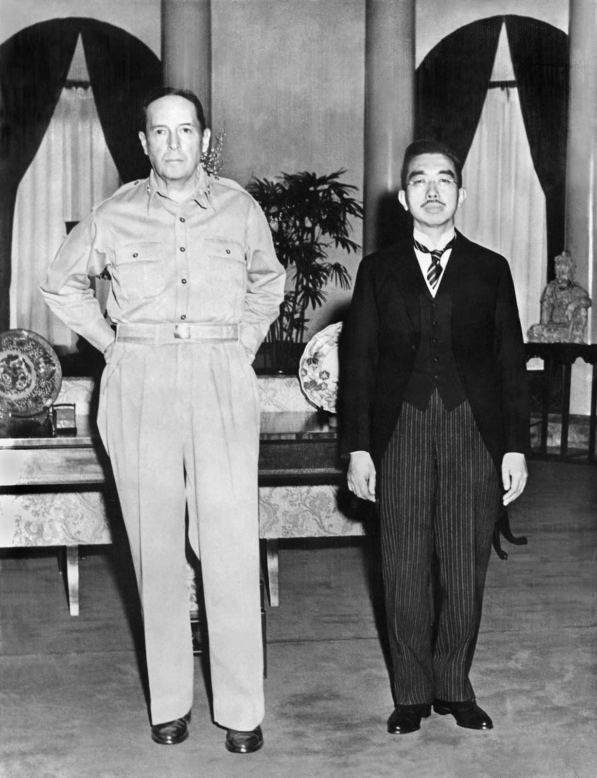 2. světová válka z pohledu Japonska a život císaře Hirohita