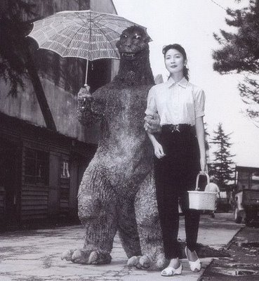 Godzilla, just a rubber monster, right?