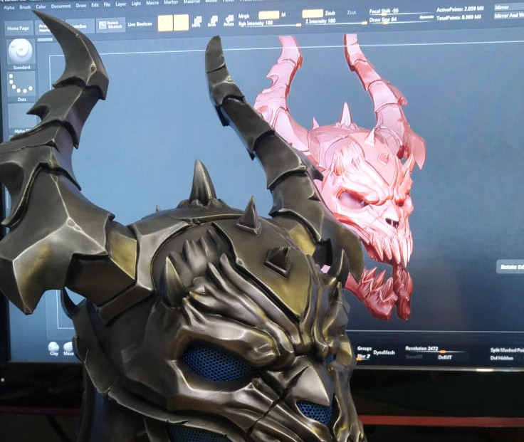 3D tisk v cosplayi: Od modelování po barvení
